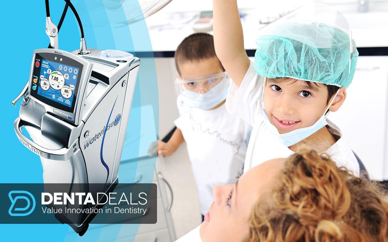 laser dentar stomatologie Principalele diferențiatoare în pedodonția modernă